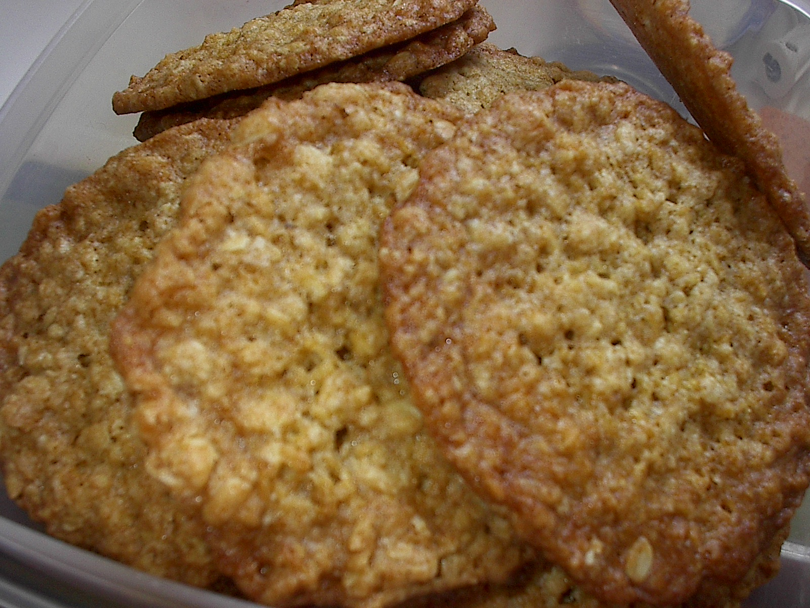 ... Blog Archive » cook's illustrated thin & crispy oatmeal cookies